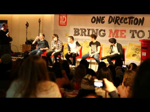 BRING ME TO 1D - i One Direction rispondono alle domande dei fan