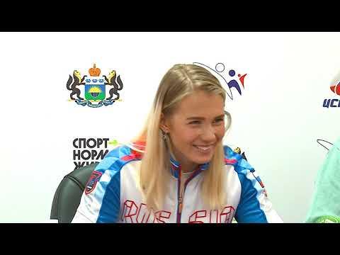 Юлия Каплина первой из тюменцев добыла путёвку на Олимпиаду-2020!