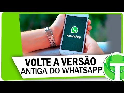 Baixar whatsapp - Como DESATUALIZAR ou VOLTAR A VERSÃO ANTIGA DO WHATSAPP