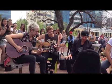 Beside You - 5SOS (Adelaide Pop Up Acoustic Show)