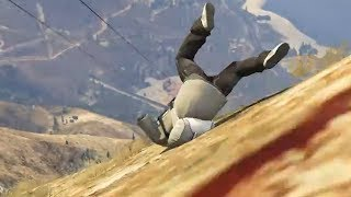 An uncultured swine plays Grand Theft Auto 5 for the first time