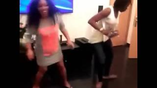 Funny Video:Actress Rita Dominic Dancing With Kate Henshaw At Her Birthday Party