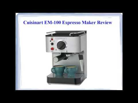 Cuisinart EM-100 Espresso Maker – See This Before Buying!