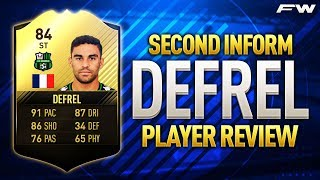 In today's player review we'll be taking a close look at the cheap beast that is SIF Defrel and his 84 rated FIFA 17 card. With immense pace, shooting and dr...