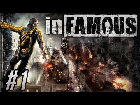 "inFAMOUS - Episode 1 ""The Explosion"" (Good Karma / Platinum Guide)"