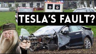 TESLA CRASH | Who's Fault Is It? by Vehicle Virgins