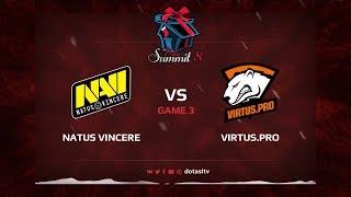 Natus Vincere против Virtus.pro, Третья карта, Квалификация на Dota Summit 8