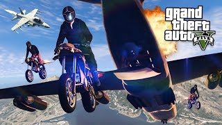 New GTA 5 Gun Running DLC update final mission with new flying rocket bike and cargo plane! GTA 5 Gunrunning DLC for GTA ...
