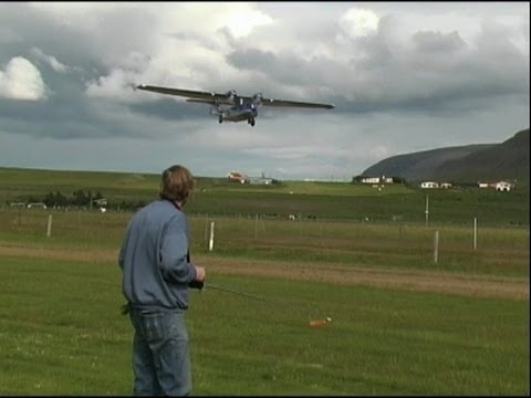 catalina - First flight of this Catalina PBY-5A RC model made and designed by Sturla Snorrason in Iceland. http://www.flickr.com/photos/sturla and email: sturlasnorraso...