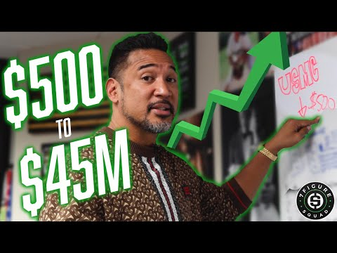 How I Turned $500 to $45 MILLION in 5 Years!