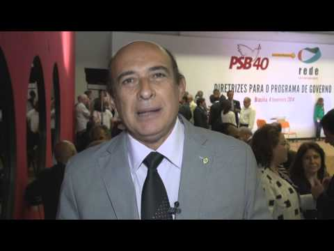 Prefeito Ribamar Alves participa do Encontro Nacional do PSB em Brasília