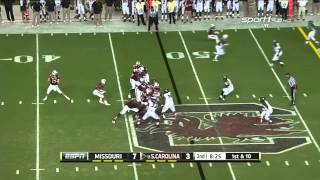 A.J. Cann vs Missouri (2014)