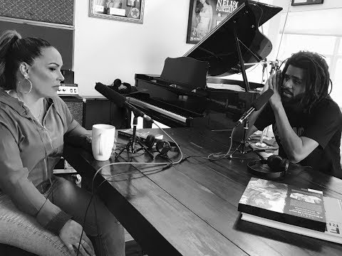 J. Cole x Angie Martinez Interview at Salaam's House