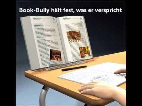 Die ergonomische und patentierte Buchstütze im Klassenzimmer!