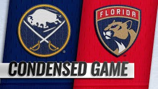 02/19/19 Condensed Game: Sabres @ Panthers by NHL