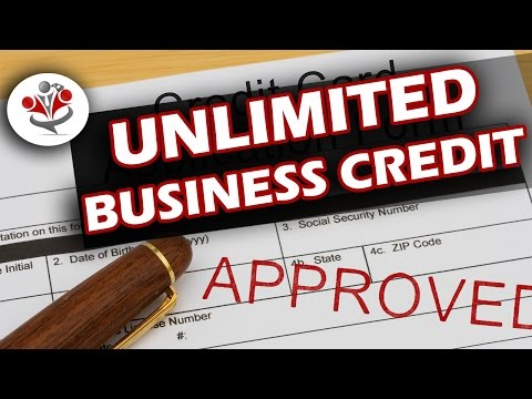 How would you like unlimited business credit?