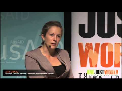 Julie McKay on the economic security of women