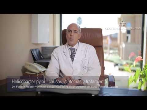 Helicobacter pylori: causas, síntomas y tratamiento