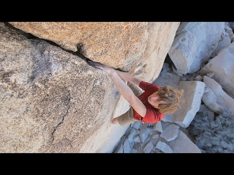 Will Stanhope Goes Solo On The Crack Climbs Of Joshua Tree | Hardliners, Ep. 3 (видео)