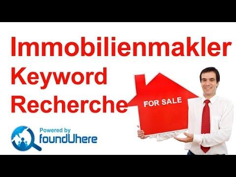Immobilienmakler Keyword Recherche mit dem Google Keyword Planner