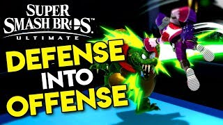 DEFENSE into OFFENSE! OUT OF SHIELD OPTIONS | Smash Bros Ultimate