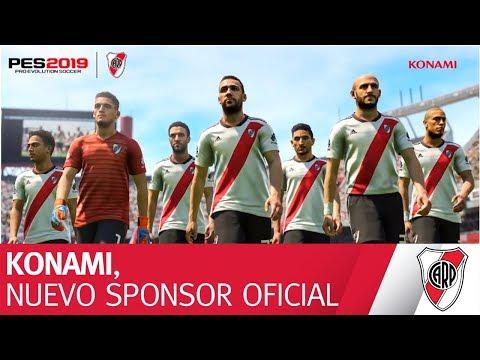 KONAMI, nuevo sponsor oficial de River