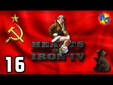 Let's Play Hearts of Iron 4 Soviet Union | HOI4 USSR Elite Gameplay | World Revolution Part 16