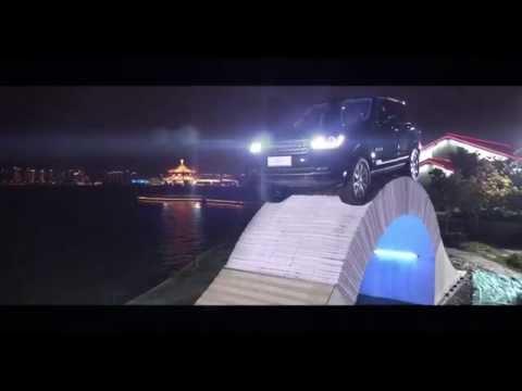 World-first drive across a paper bridge