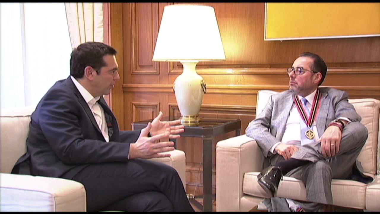 Συνάντηση με τον Πρόεδρο της ομάδας των Σοσιαλιστών και Δημοκρατών στο Ευρ. Κοινοβούλιο, Τ. Πιτέλα