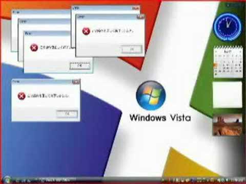 Windows vista當機的聲音,喜歡嗎?