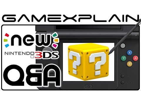 speakers - We answer your questions about the the New Nintendo 3DS in our Q&A video! We cover how it feels, how changing faceplates work, SD card size, how well the C-Stick works--and much, much more!...
