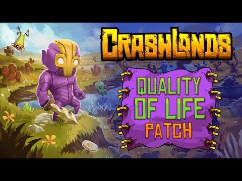 crashlands quality of life patch