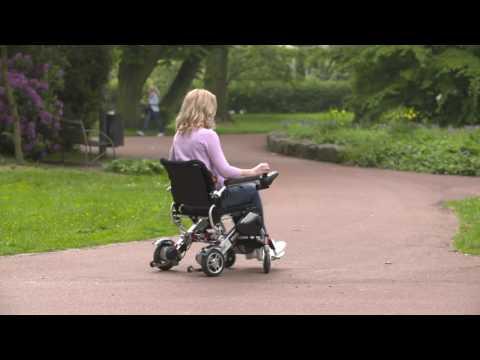 MovingStar 102 & 401 - elektrischer Rollstuhl faltbar, leicht und mit Joystick