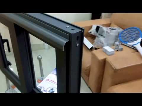 Hệ cửa nhôm mới : Cửa đi trượt hệ 55 dày 2,0mm thay thế hệ 93 & 95