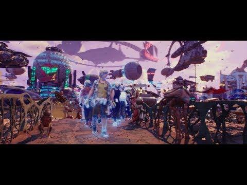 Welcome To Big Market | Valerian And The City Of A Thousand Planets 2017 English