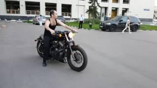 4. Harley davidson sportster 1200 nightster