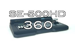 Datavideo SE-500HD HDSD 4-Channel Digital Video Switcher 360˚ Video