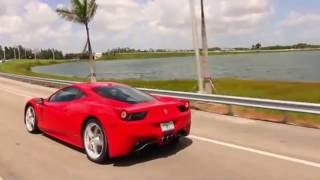 Ferrari Rental Miami, Florida at Veluxity