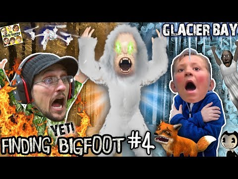 Finding Bigfoot Game: The Yeti Vs Fgteev! (glacier Bay Map New Update W/ Bendy & Granny Items?)