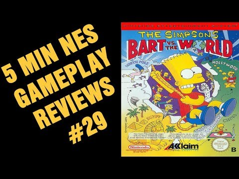 The Simpsons : Bart vs the World Game Boy