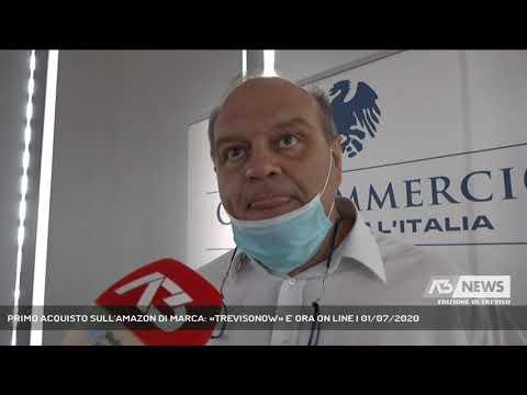 PRIMO ACQUISTO SULL'AMAZON DI MARCA: «TREVISONOW» E' ORA ON LINE | 01/07/2020