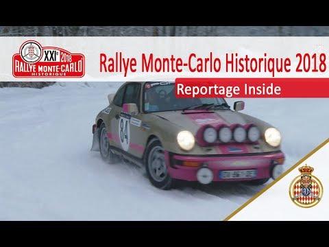 Il neige sur la route du Rallye Historique - RMCH 2018