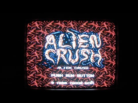 alien crush pc engine rom