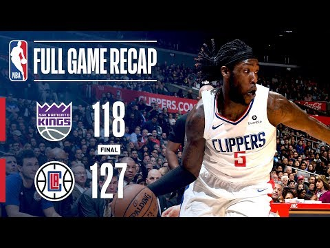 Video: FULL GAME RECAP: KINGS VS CLIPPERS | LAC HOLDS OFF SACRAMENTO'S LATE 4TH QUARTER RUN