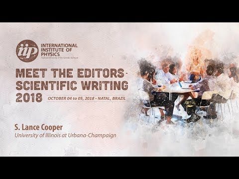 Organizing and Writing an Accessible Scientific Paper - Lance Cooper