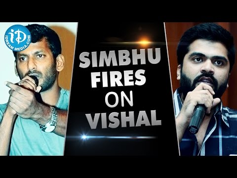 Simbu Fires On Vishal Over Nadigar Sangam Elections