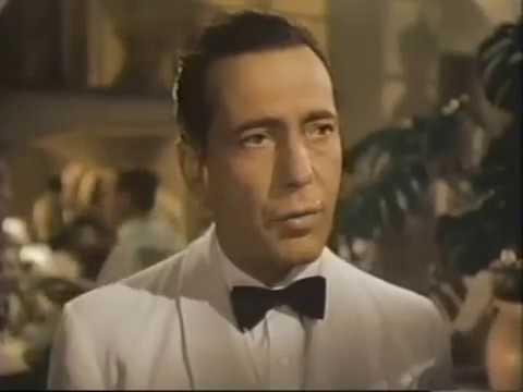 Casablanca 1942 COLORIZADO Dublagem Clássica Telecine