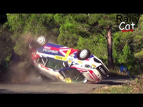 WRC Rally Racc Catalunya Spain 2017 / Crash & Attack