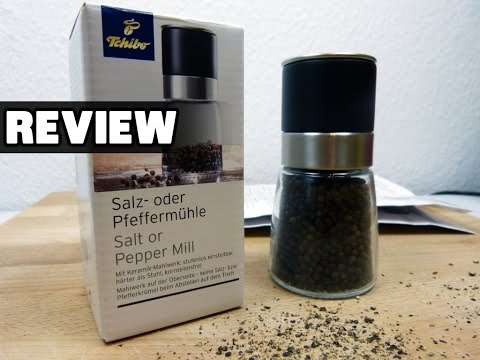 Tchibo / TCM Salz- oder Pfeffermühle im Test