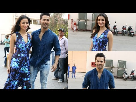 Promotinal interview With Varun Dhavan & Alia Bhatt For Badrinath Ki Dulhaniya At Mehboob Studdio